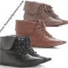 black-and-brown-leather-flat-ankle-boots-collection-2014-for-women-9726408